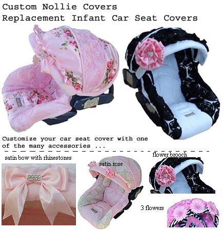 Custom Made Infant Car Seat Covers | Royal Bambino
